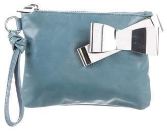 Sonia Rykiel Sonia by Leather Wristlet Clutch
