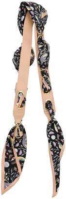 Chloé fabric bag strap