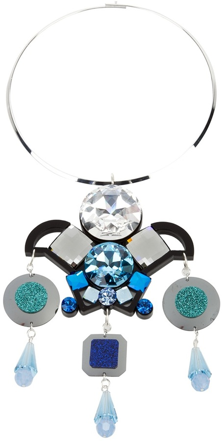 Holly Fulton chandelier pendent choker necklace