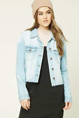 Forever 21 Sequined Denim Jacket