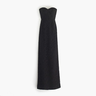 Natasha long dress in Leavers lace $298 thestylecure.com
