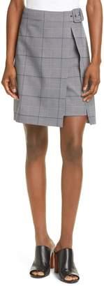 Club Monaco Faux Wrap Miniskirt