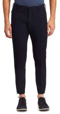 Emporio Armani Grid Knit Jersey Pants