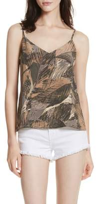L'Agence Jane Print Silk Camisole