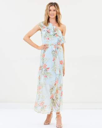 Cooper St Blooming One Shoulder Maxi Dress