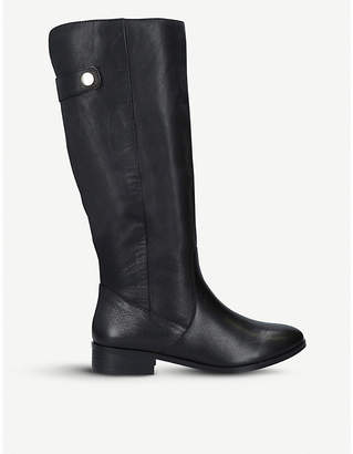 Aldo Ginnis leather knee-high boots
