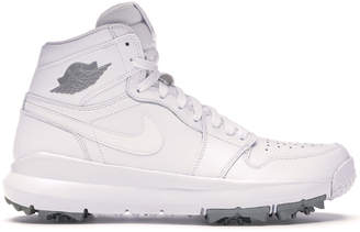 Jordan 1 Retro Golf Cleat White Metallic