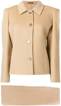 Pierre Cardin Pre-Owned two-piece skirt suit