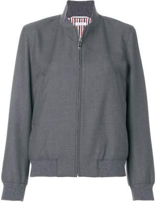 Thom Browne Classic Wool Varsity Jacket