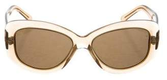 Cutler and Gross Oval Tinted Sunglasses