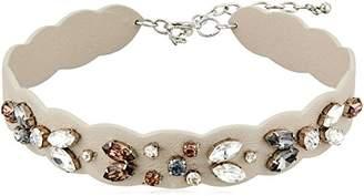 Rebecca Minkoff Jeweled Guitar Strap Choker Necklace