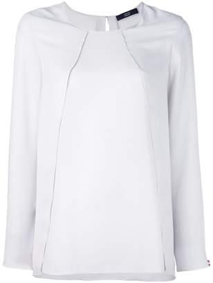 Steffen Schraut overlay detail blouse