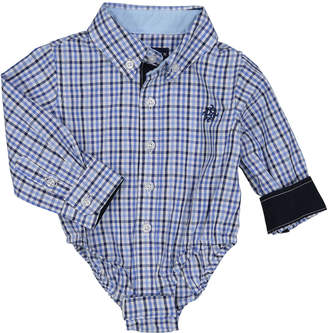 Andy & Evan Boys' Checkered Dress Shirt, Size 3-24 Months