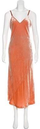 A.L.C. Velvet Midi Dress