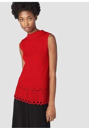 Derek Lam 10 Crosby Crochet Shell
