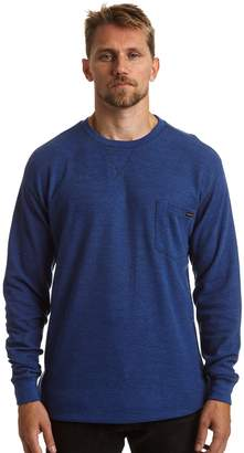 Stanley Men's Classic-Fit Waffle-Weave Thermal Pocket Tee