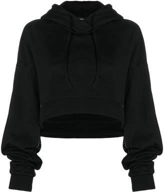 Y-3 cropped hoodie