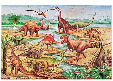 Melissa & Doug 48-pc. Dinosaurs Floor Puzzle
