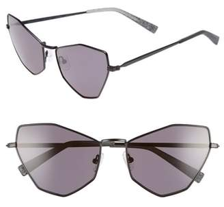 KENDALL + KYLIE Liara 57mm Cat Eye Sunglasses