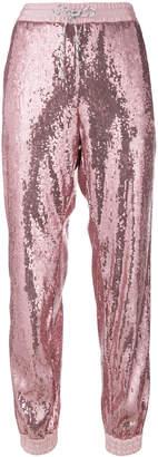Christian Pellizzari sequined track pants
