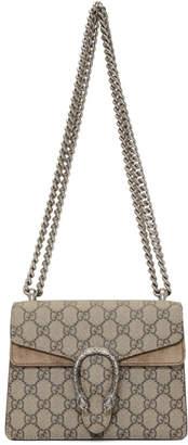 Gucci Beige Mini GG Supreme Dionysus Bag