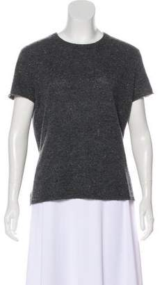 ATM Anthony Thomas Melillo Cashmere Short Sleeve Top