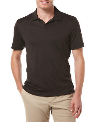 Perry Ellis Open Polo Knit