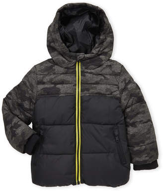 Michael Kors Toddler Boys) Camouflage Hooded Puffer Coat
