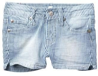 "7 For All Mankind 2\"" Stripe Shorts (Big Girls)"