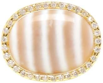 Kimberly Mcdonald chalcedony and diamond ring