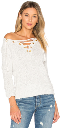 Lovers + Friends Yacht Sweater $160 thestylecure.com