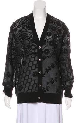 Opening Ceremony Jacquard Knit Cardigan w/ Tags