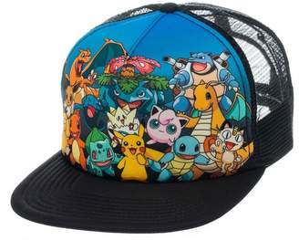 Pokemon Baseball Cap Characters pikachu Official New colour Snapback