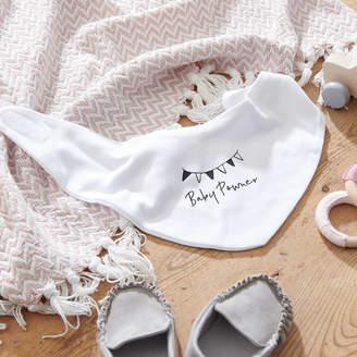 Owl & Otter Personalised Baby Shower Bib
