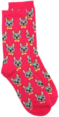Hot Sox Frenchie Crew Socks - Women's
