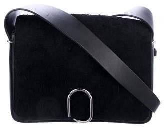 3.1 Phillip Lim Alix Distressed Suede Shoulder Bag