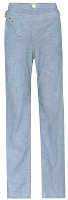 Chloé Chambray trousers