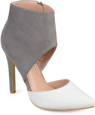 Journee Collection Zinia Women's Ankle Cuff High Heels