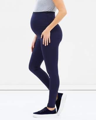 Angel Maternity Maternity Winter Pull-On Leggings