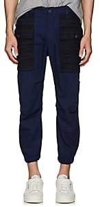DSQUARED2 Men's Cotton Twill Cargo Jogger Pants-Blue Size 44 Eu