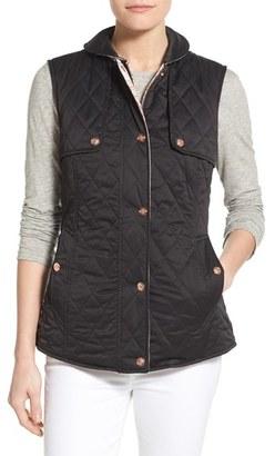 Women's Nanette Lepore Reversible Quilted Vest $128 thestylecure.com