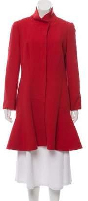 Alexander McQueen Wool Knee-Length Coat w/ Tags