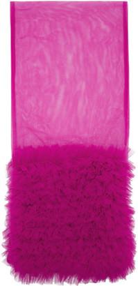 Molly Goddard Pink Costanza Scarf
