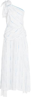 Gl Hrgel Water Clour Striped Dress