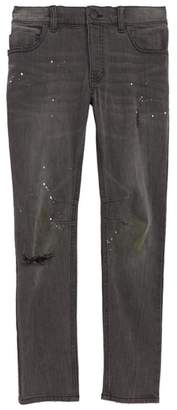 Treasure & Bond Distressed Paint Splatter Jeans