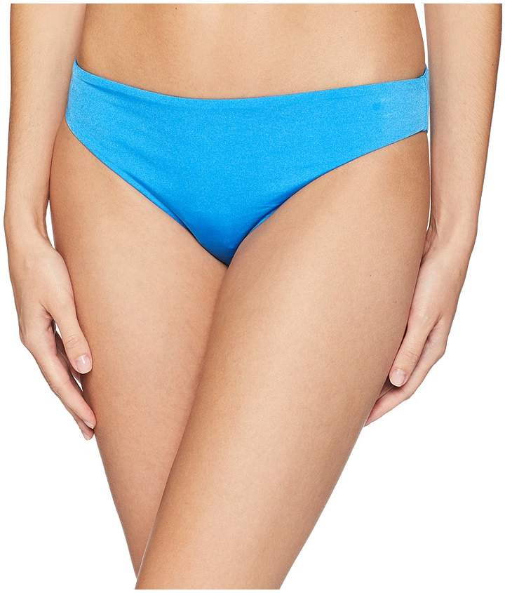 THE Solid Cinched Back Hipster Bikini Bottom Women's Swimwear