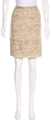 Dolce & Gabbana Knee-Length Tweed Skirt