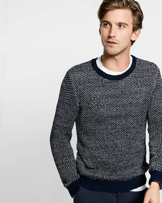 Express Tape Yarn Crew Neck Sweater