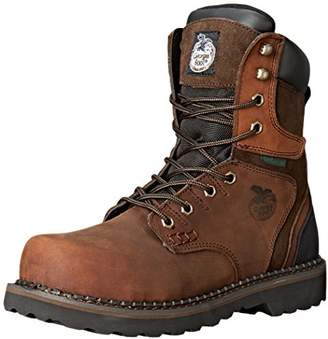 "Georgia Boot Men's Brookville 8"" Steel Toe M Work"