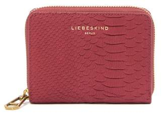 Liebeskind Berlin Conny Python Embossed Leather Coin Wallet